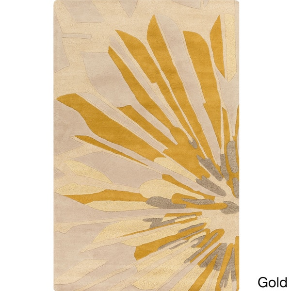 Hand-Tufted Samson Abstract Pattern Area Rug