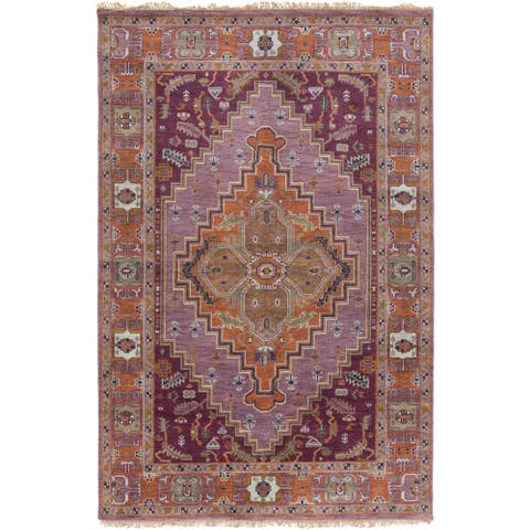 Hand-Knotted Joe Traditional New Zealand Wool Area Rug