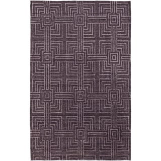 Hand-Knotted Mae Contemporary Rayon from Bamboo Rug (2' x 3')