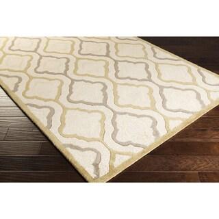 Hand-Tufted Payten Lattice Pattern Rug (2'6 x 8')
