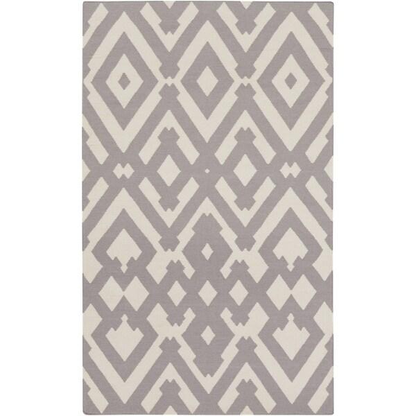 Hand-Woven Alvaro Wool Area Rug - 3'3 x 5'3