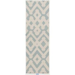 Hand-Woven Alvaro Wool Rug (2'6 x 8')