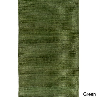 Hand-Woven Aleigha Country Jute Rug (3'6 x 5'6)