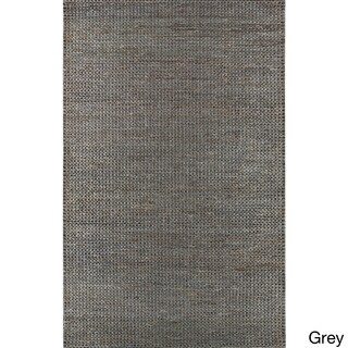 Hand-Woven Aleigha Country Jute Area Rug - 5' x 8'
