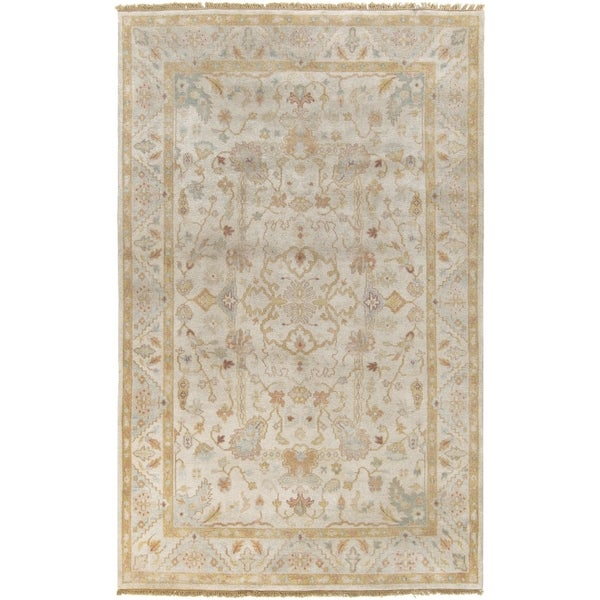 Hand-Knotted Andy Traditional New Zealand Wool Area Rug