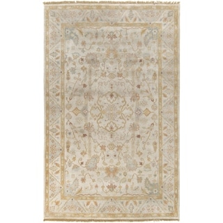 Hand-Knotted Andy Traditional New Zealand Wool Rug (2' x 3')