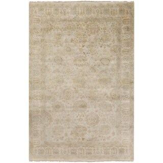 Hand-Knotted Dane Traditional New Zealand Wool Area Rug (2' x 3')