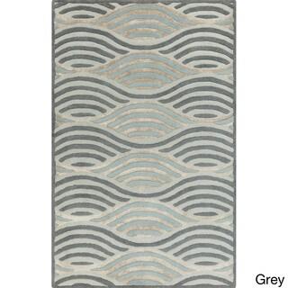 Hand-Tufted Addilyn Contemporary Wool Rug (5' x 7'9)