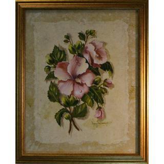 Nancy Wiseman 'Floral' 16 x 20 Framed Art Print