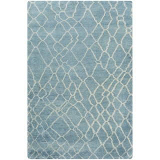 Hand-Knotted Arya Shag Cotton Rug (5' x 8')