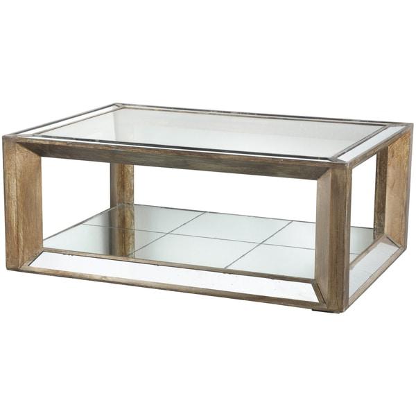 Julia Wood Gl Mirrored Coffee Table