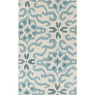 Hand-woven Bettie Ikat Reversible Area Rug (3'3 x 5'3)