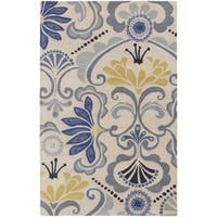 Hand-tufted Carley Floral Indoor Area Rug - 2' x 3'