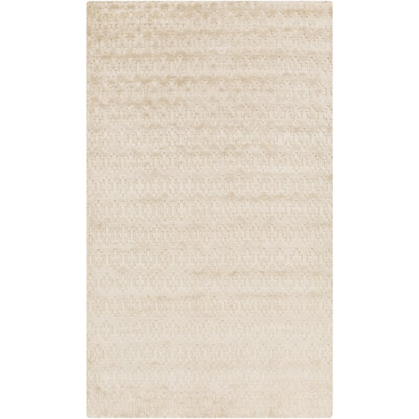 Hand-Knotted Esteban Solid Cotton Area Rug