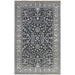 Hand-Knotted Whitford Floral Wool Rug (2' x 3')