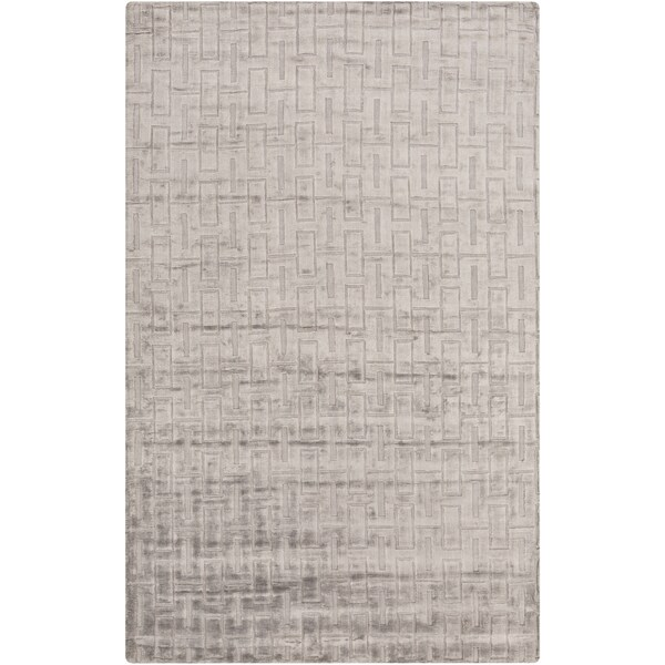 Hand-Knotted Emanuel Solid Cotton Rug (2' x 3')