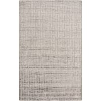 Hand-Knotted Emanuel Solid Cotton Area Rug (2' x 3')
