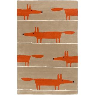 Hand-Tufted Aubrie Kids & Tween Wool Rug (8' x 11')
