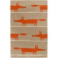 Hand-Tufted Aubrie Kids & Tween Wool Area Rug (8' x 11')