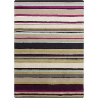 Hand-Tufted Joanna Stripe Pattern Area Rug
