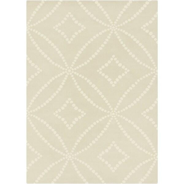 Hand-Tufted Joanne Geometric Pattern Area Rug - 8' x 10'