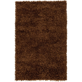 Hand-Woven Kendall Solid Polyester Rug (9' x 12')