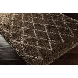 Hand-Woven Kellen Geometric Polyester Rug (9' x 12')