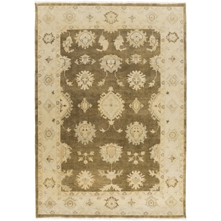 Hand-Knotted Kristin Floral New Zealand Wool Rug (2' x 3')