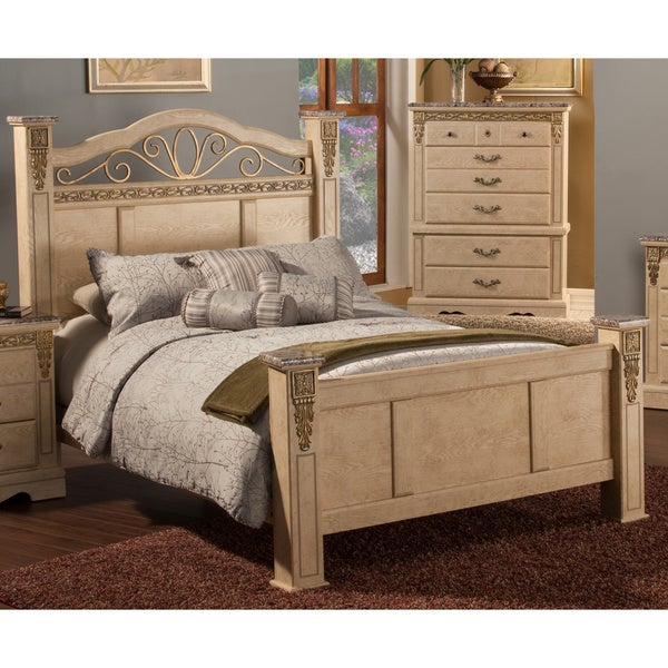 Shop Sandberg Furniture Belladonna White Washed Faux