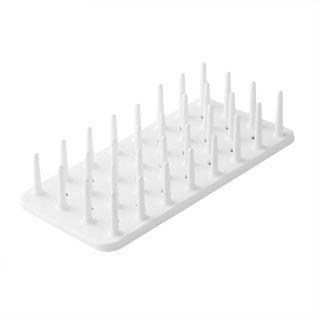Naturnic White Simple Dish Rack