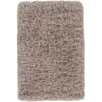 Hand-Woven Lucian Solid Area Rug - 2' x 3'