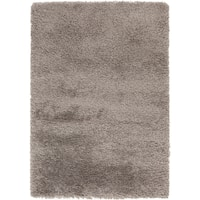 Hand-Woven Lucian Solid Area Rug - 5' x 8'