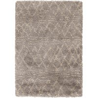 Hand-Woven Lilian Solid Area Rug - 5' x 8'