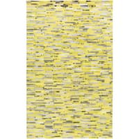 Hand-Crafted Jeremiah Animal Leather Area Rug