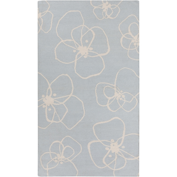 Hand-Woven Donnie Floral Wool Rug (2' x 3')