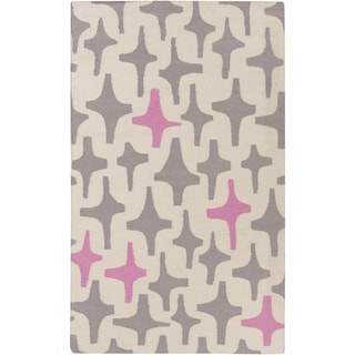 Hand-Woven Dianne Abstract Wool Area Rug