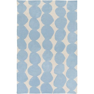 Hand-Woven Dorian Abstract Wool Rug (8' x 11')