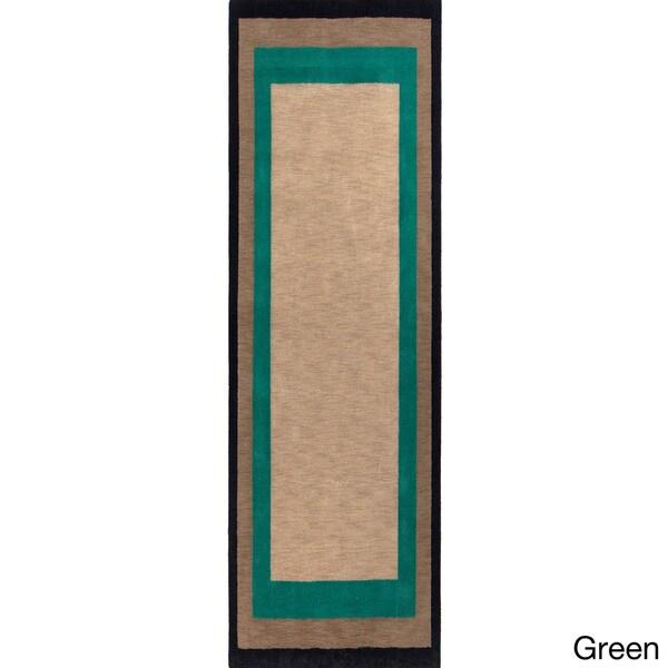 Handmade Johnson Country Wool Rug (2'6 x 8')