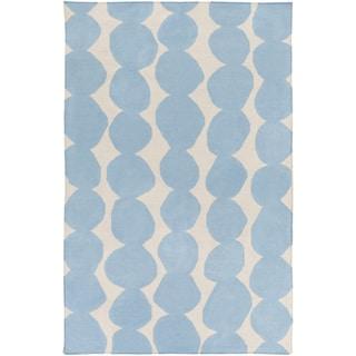 Hand-Woven Dorian Abstract Wool Rug (3'3 x 5'3)