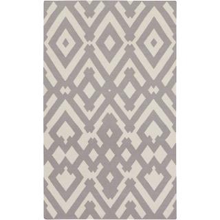 Hand-Woven Alvaro Wool Rug (5' x 8')