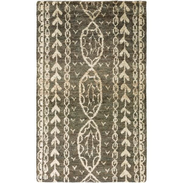 Hand-Knotted Felicia Hemp Area Rug (8' x 11')