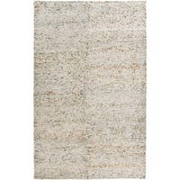 Hand-Knotted Roderick Abstract Cotton Area Rug - 8' x 11'
