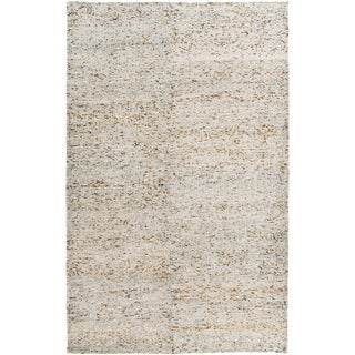 Hand-Knotted Roderick Abstract Cotton Rug (2' x 3')