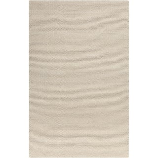 Hand-Woven Anabelle Solid Wool Rug (2' x 3')
