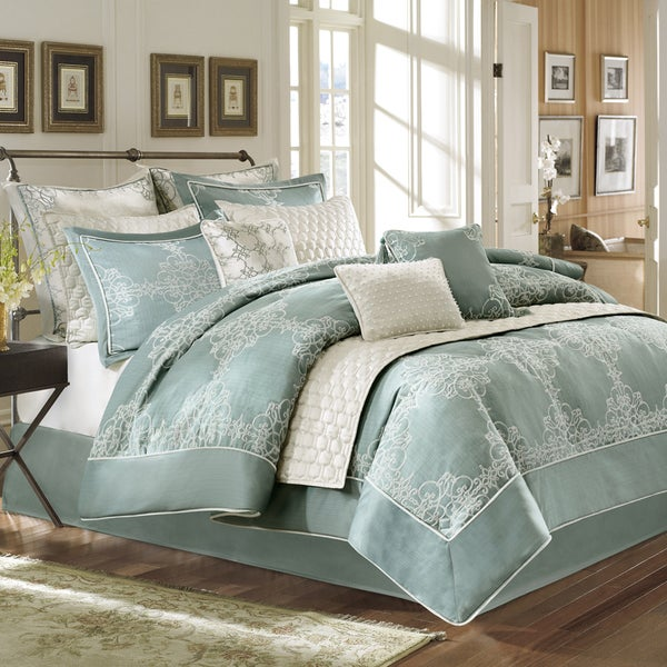 Bombay Crawley 12-piece Comforter Set-Coverlet Set Included