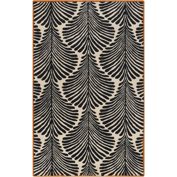 Hand-Tufted Carmen Floral Wool Area Rug