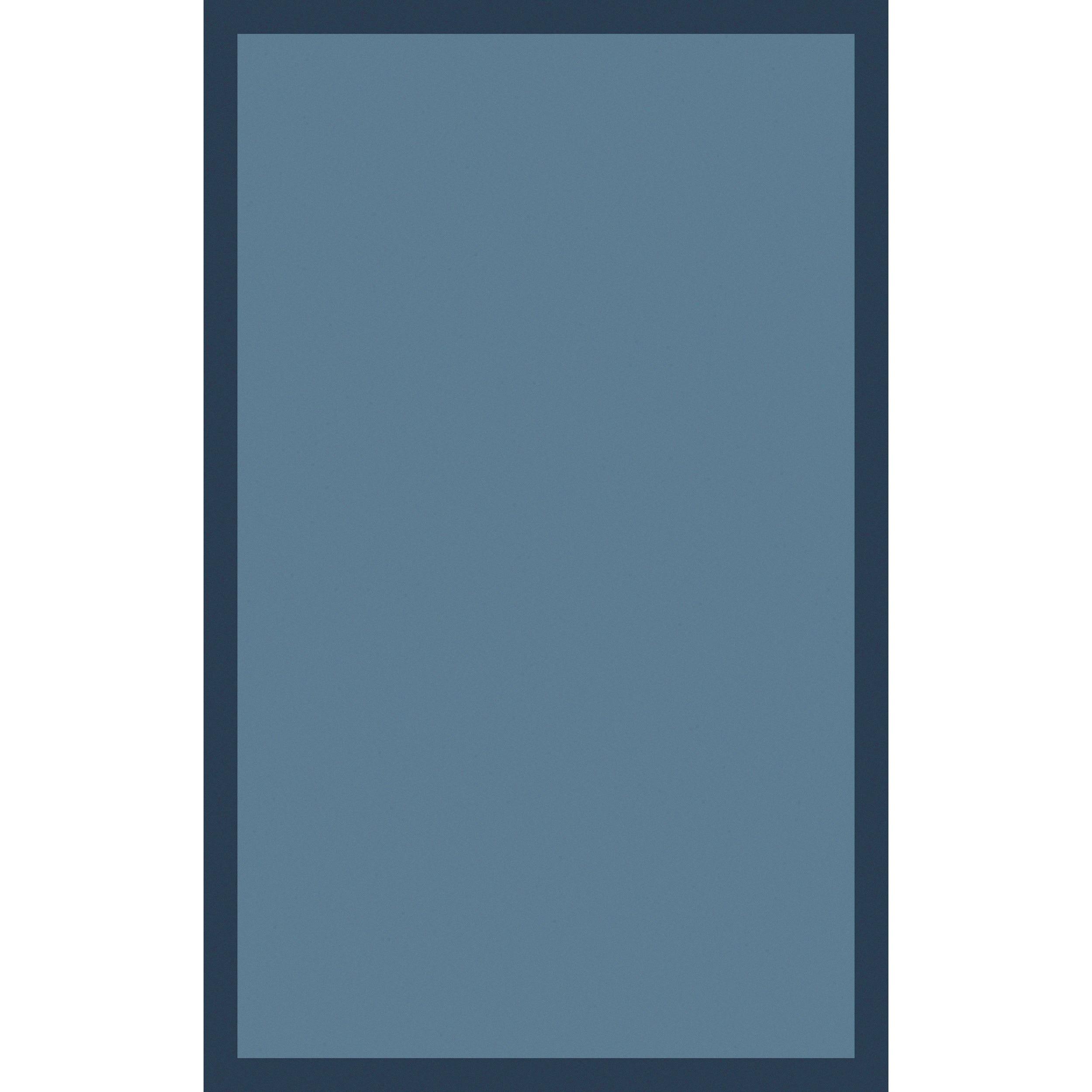 Handmade Hazel Casual Style Wool Rug (3'3 x 5'3) (Blue-(3...
