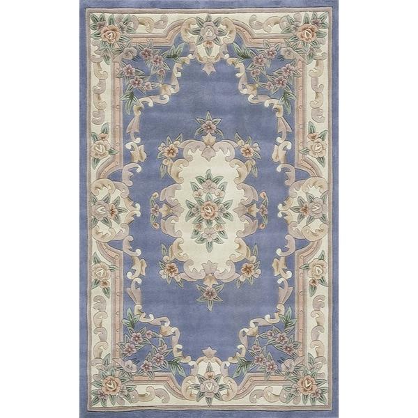 Iona Hand-Tufted Wool Oriental Area Rug (8' x 11')
