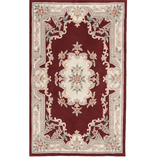 12 10 X 14 11 Persian Karajeh Hand Knotted Wool: Shop Bergen Hand-Tufted Wool Oriental Area Rug (8' X 11