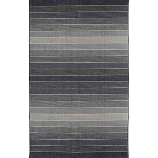 Skylar 518 Grey Stripe Area Rug (8' x 10')